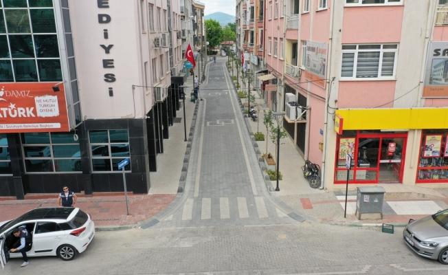 Saruhanlı Belediyesinden şehir merkezinde yeni yatırımlar