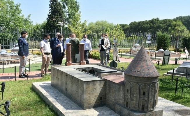 Şehzadelerpark Erzurum heyetinden tam not aldı