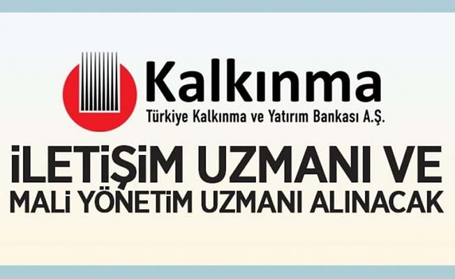 Türkiye Kalkınma ve Yatırım Bankasından Bireysel Danışman alım ilanı