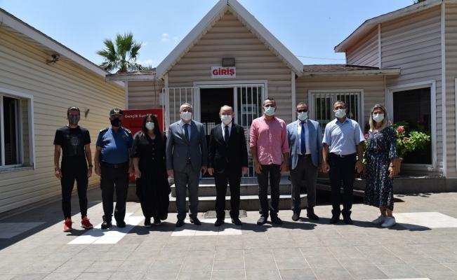 Vali Karadeniz'den Salihli'de ziyaret turu