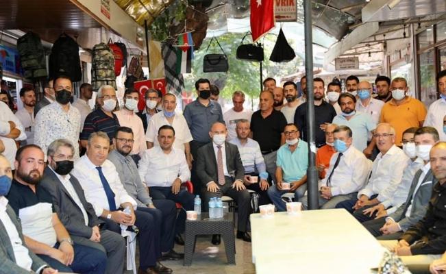 Başkan Çerçi Laleli'de vatandaşlarla buluştu