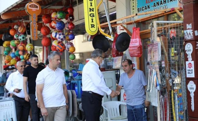 Başkan Çerçi Muradiye'de vatandaşları dinledi