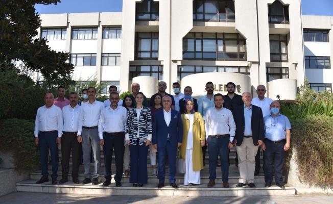 Başkan Kayda, AK Partili Kıvırcık'ı ağırladı
