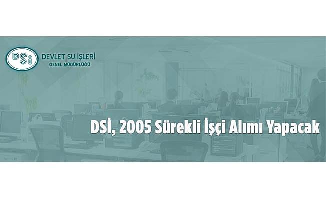 DSİ'den personel alımı
