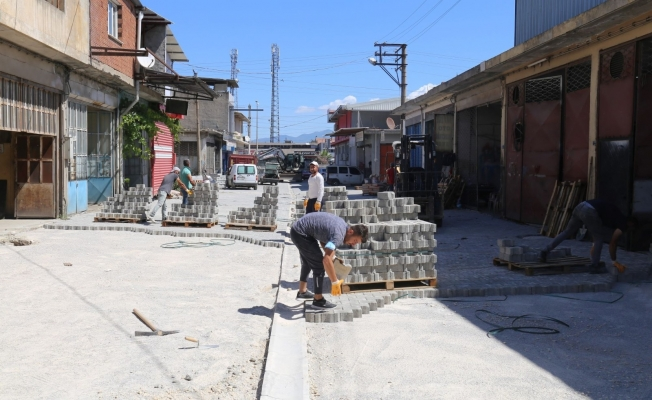 Erbiller Sanayi Sitesinin 30 yıllık yol sorunu çözüldü