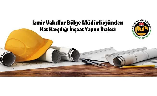 İzmir'de kat karşılığı inşaat yaptırılacak