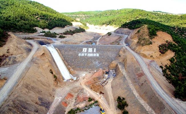 Manisa Beydere Barajı 2022'ye hazır
