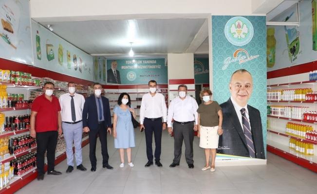 Manisa Büyükşehir ve MASKİ Alaşehir'de vatandaşlarla buluştu