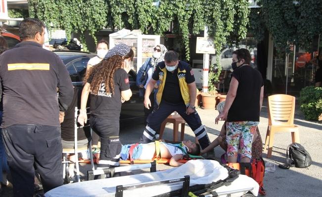 Manisa'da zincirleme kaza: 3'ü engelli 5 yaralı