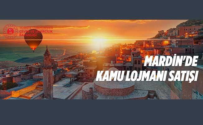 Mardin'de kamu lojmanı satışı