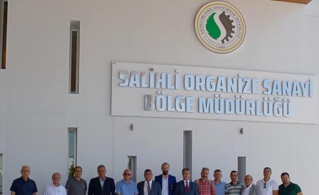 Salihli OSB yönetimi basınla buluştu