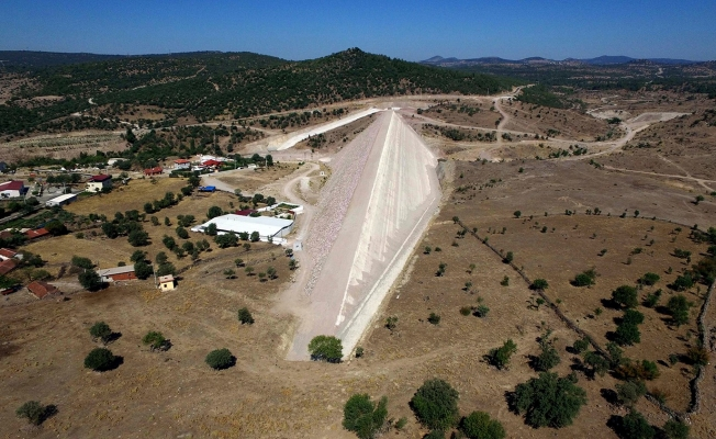 Sarma Barajı'nın gövde dolgusu tamamlandı