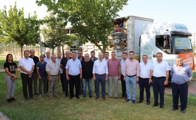 Saruhanlı'dan Antalya ve Muğla'ya yardım