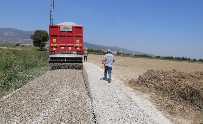 Turgutlu'da yollar yenileniyor
