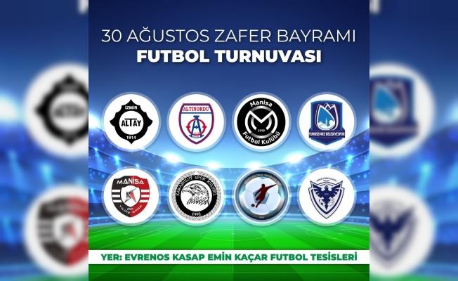 Yunusemre'de Zafer Bayramı Futbol Turnuvası düzenlenecek