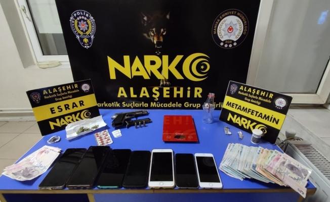 Alaşehir'de uyuşturucu operasyonu: 3 tutuklama