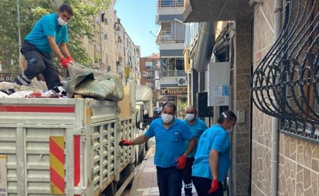 Alzheimer hastası adamın evinden 3 kamyon çöp çıktı