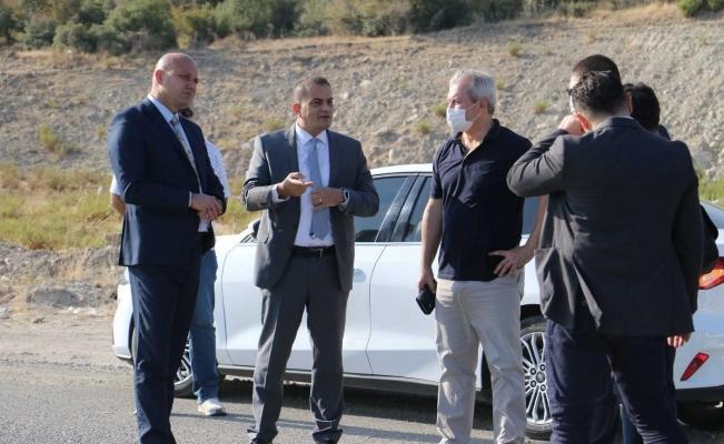 Büyükşehir ve MASKİ Akgedik TOKİ yolu için çalışmalara başladı