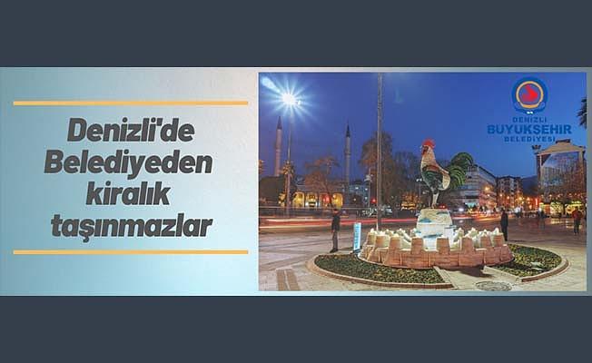 Denizli Büyükşehir Belediyesinden kiralama ihalesi