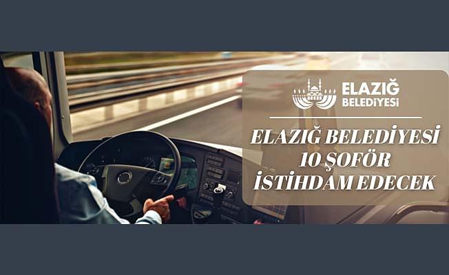 Elazığ Belediyesi Ulaşım A.Ş. 10 şoför istihdam edecek