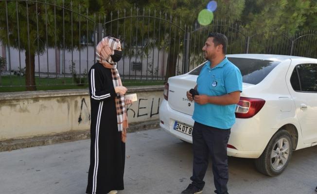Kaybettiği cüzdanına Yunusemre Belediyesi personeli sayesinde kavuştu