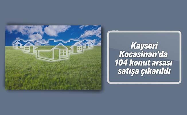 Kayseri'de arsa satışı