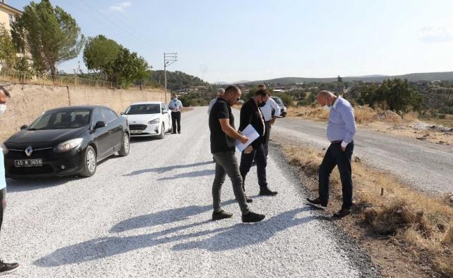 Kula'da asfalt çalışmaları tüm hızıyla sürüyor