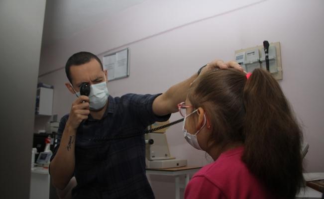 Kula'da ilk kez bir çocuğa şaşılık ameliyatı yapıldı