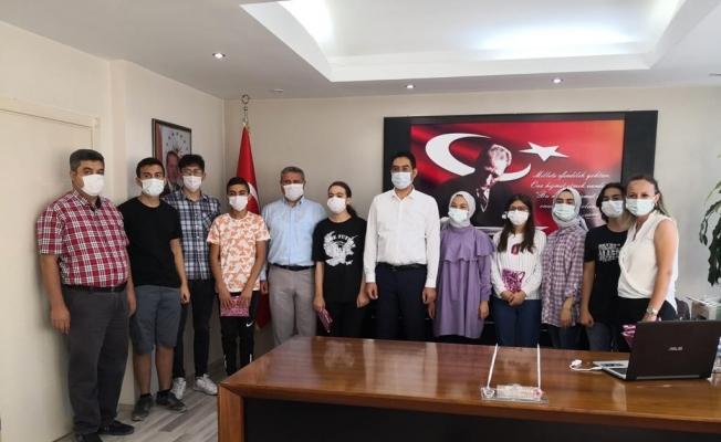 MABEM'li öğrencilerden Kaymakam Yıldırım'a ziyaret