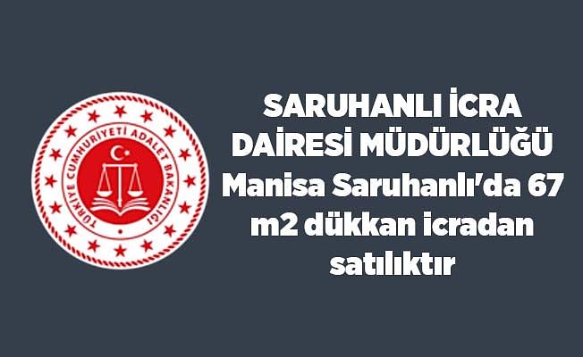 Manisa Saruhanlı'da 67 m2 dükkan icradan satılıktır