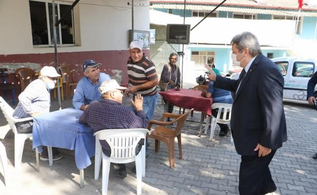Manisa Büyükşehir Belediyesi ve MASKİ'den Gölmarmara'ya ziyaret