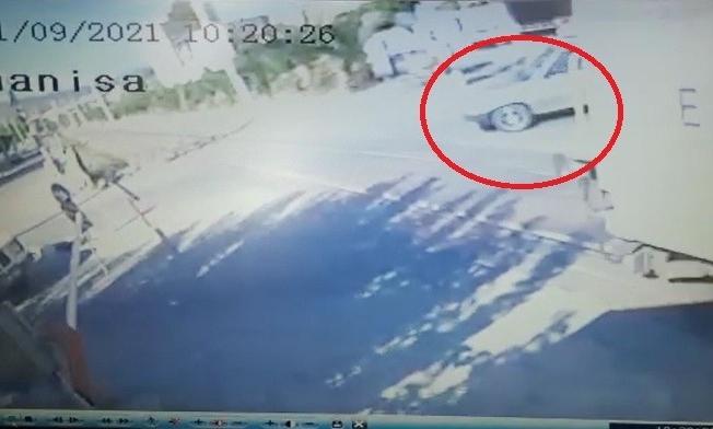 Manisa'daki tren kazasının güvenlik kamera görüntüleri ortaya çıktı