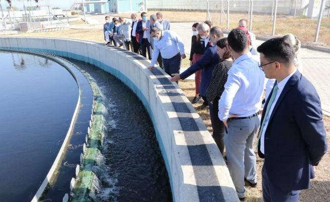 Merkez İleri Biyolojik Atıksu Arıtma Tesisi günlük 50 bin metreküp su arıtıyor