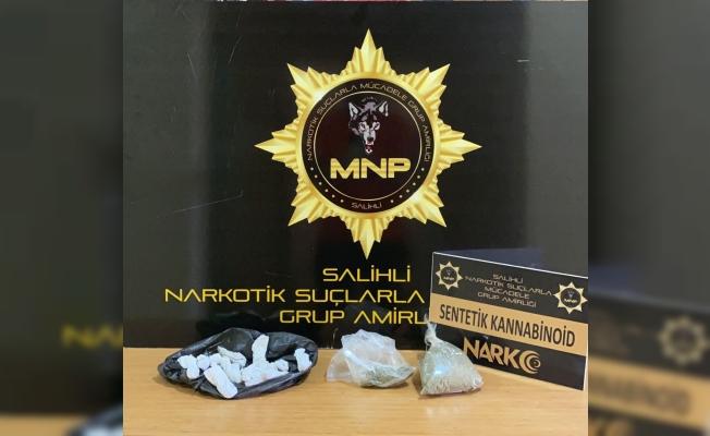 Salihli polisinden uyuşturucuya geçit yok