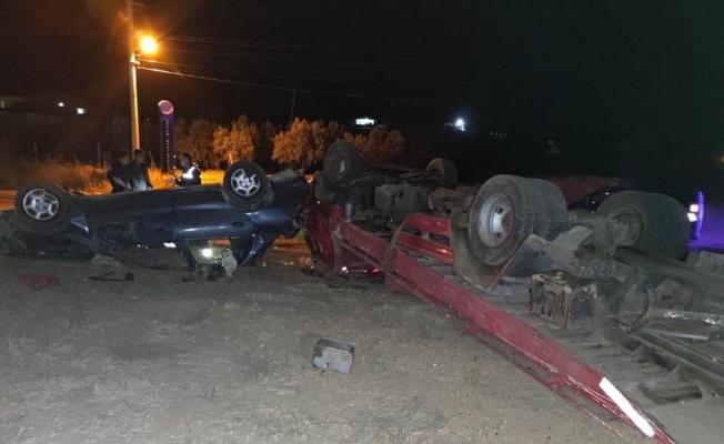 Sarıgöl'de trafik kazası: 2 yaralı