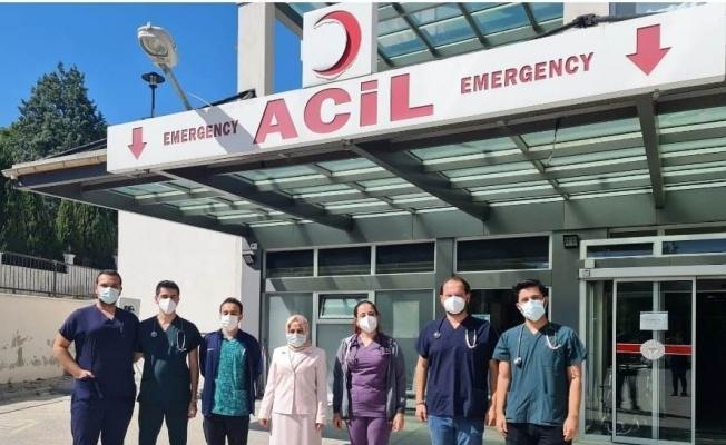 Selendi Devlet Hastanesine atanan doktorlar göreve başladı