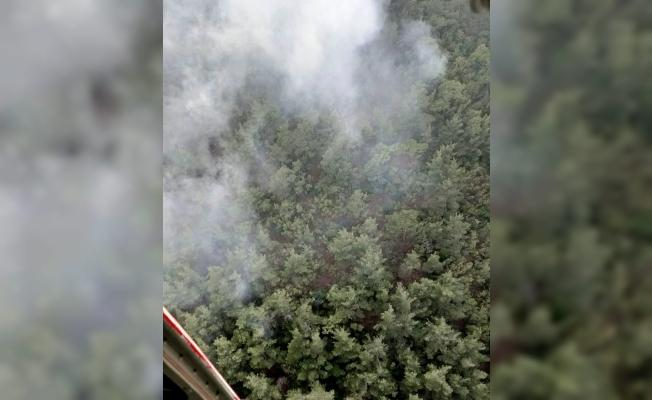 Soma'da yangın kontrol altında