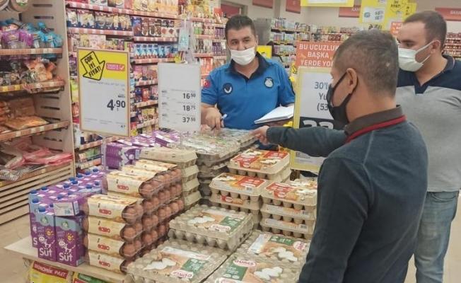 Turgutlu zabıtası fiyat denetimlerine devam ediyor