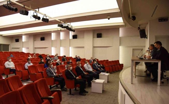2021 yılı ekim ayı ilçe şefleri toplantısı yapıldı