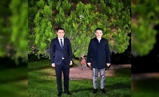 AK Parti'li Kaçar Ankara'da bakanlarla görüştü