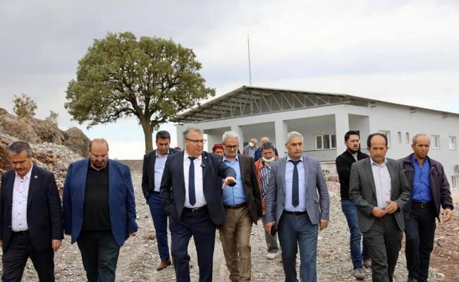 Başkan Çerçi Pelitalan ve Maldan'da yatırımları inceledi