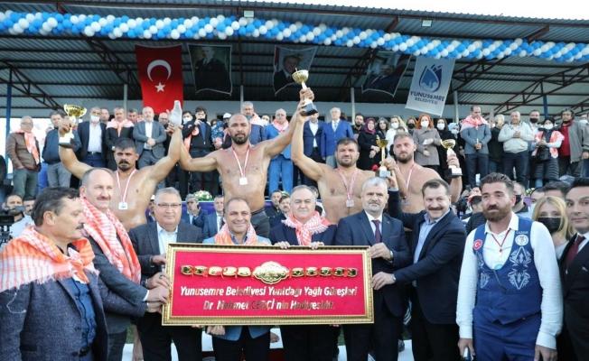 Başkan Çerçi'den güreşseverlere teşekkür