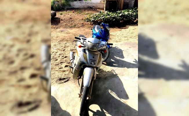 Jandarma çalıntı motosikletleri buldu