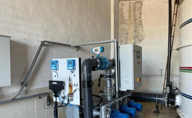 Karaağaçlı İçme Suyu Arıtma Tesisi revize edildi
