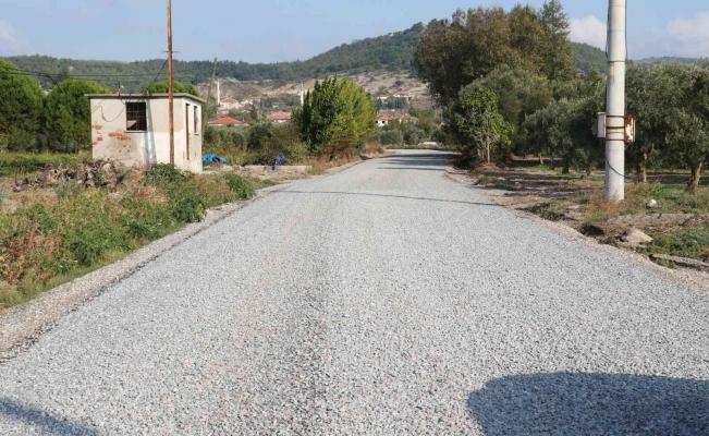 Kırkağaç'ta yollar tamamlanıyor