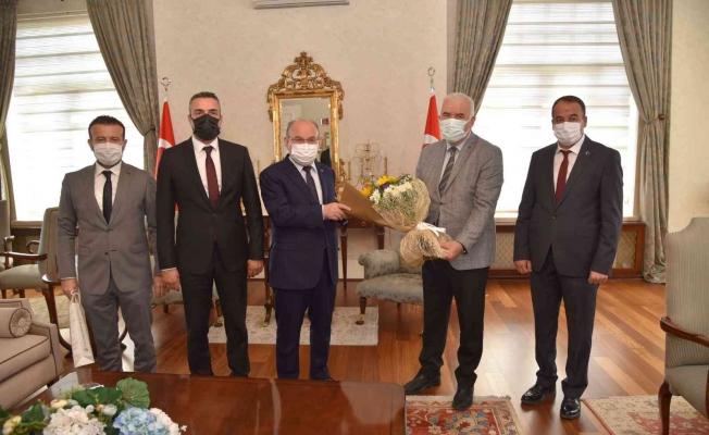 Manisa BBSK yönetiminden Vali Karadeniz'e ziyaret