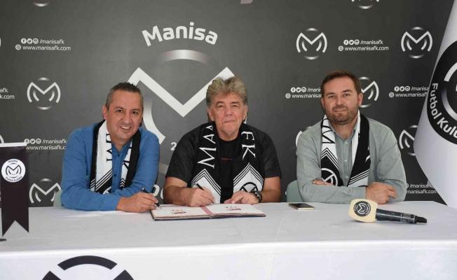 Manisa FK'da Teknik Direktör Naci Şensoy imzayı attı