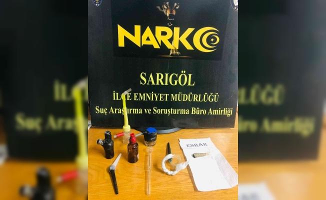 Manisa'da uyuşturucu kullanan şahıslara operasyon