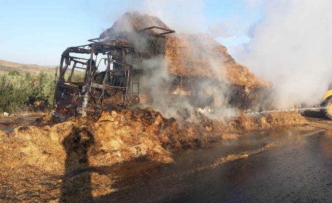 Manisa'daki kazada bir kişi yanarak hayatını kaybetti