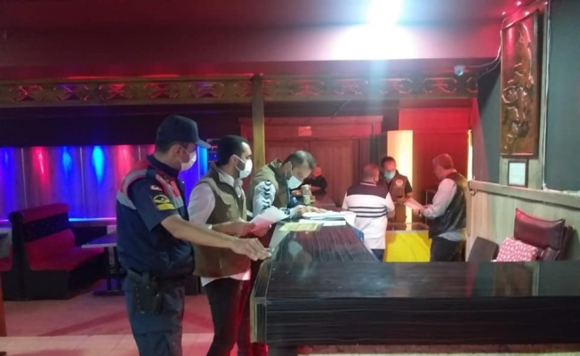 Salihli'de gece kulüpleri denetlendi